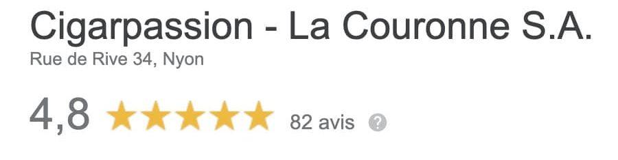 Avis Google La Couronne SA